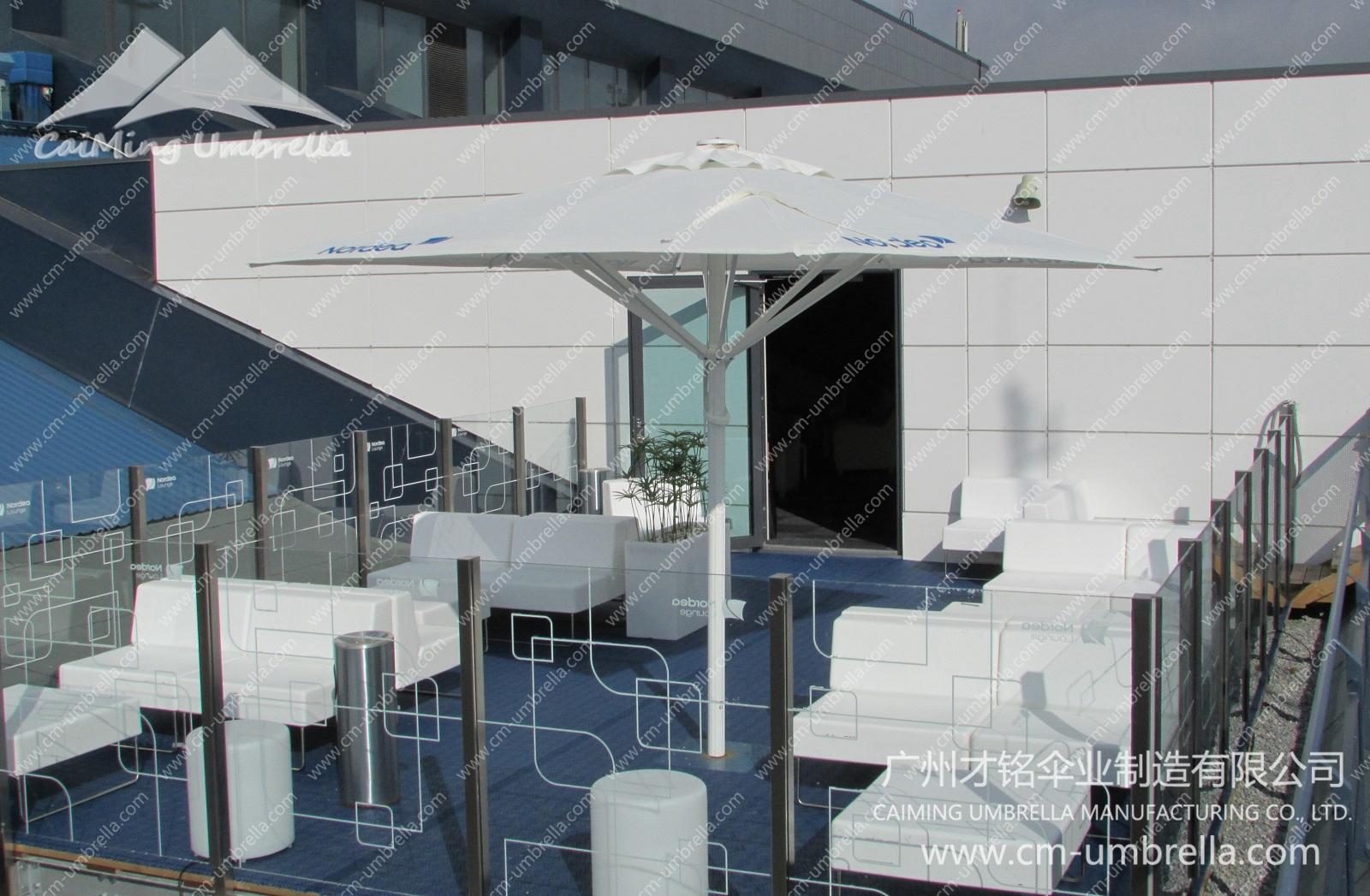 Aluminum Middle Column Square Umbrella Premium