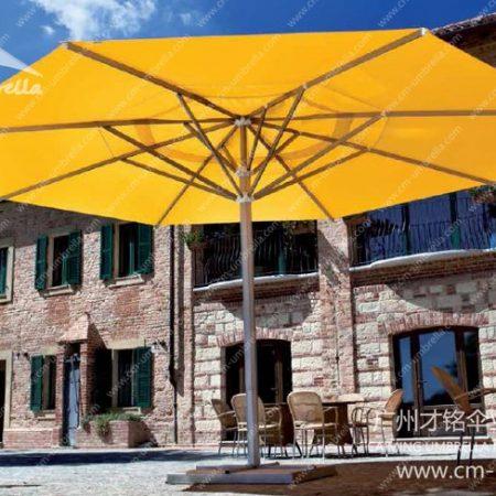 Aluminum Middle Column Round Umbrella Premium