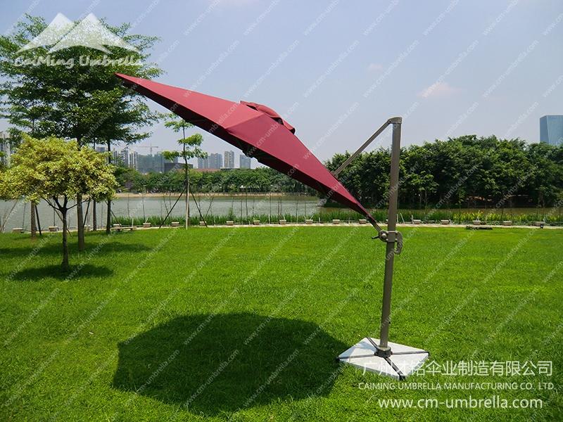 Aluminum Cantilever Round Umbrella