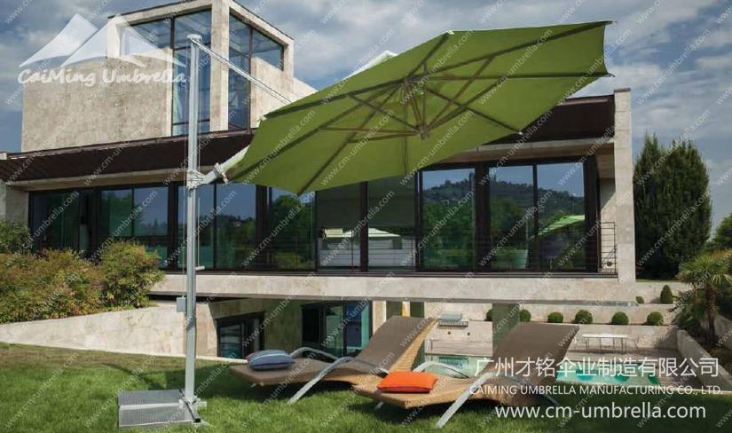 Aluminum Cantilever Round Umbrella Premium