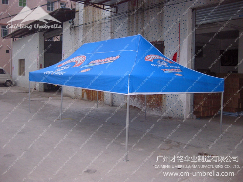 Flat Topped Four Angle Umbrella