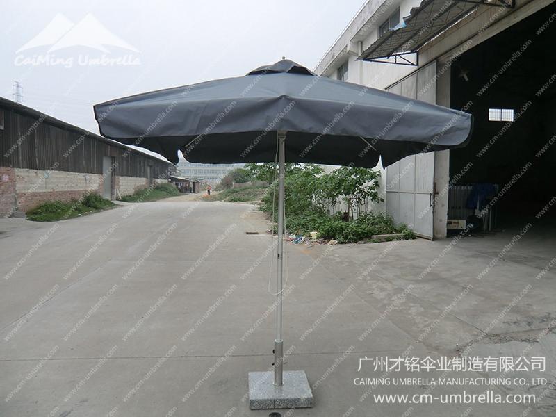 Aluminum Middle Column Square Umbrella