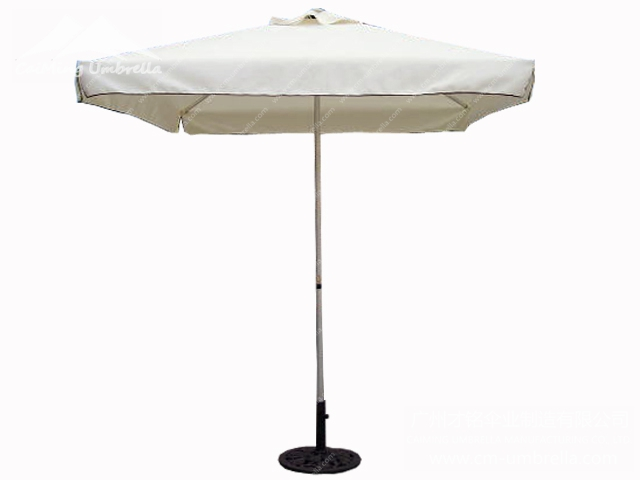 Aluminum Stele Umbrella Market Umbrella square
