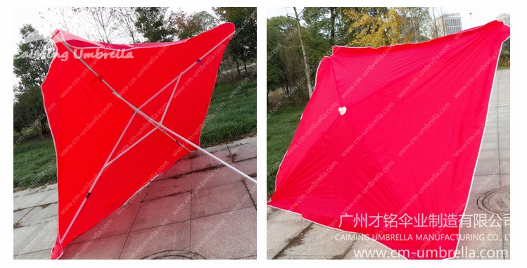 Water Tank Square Umbrella | Guangzhou CaiMing Umbrella