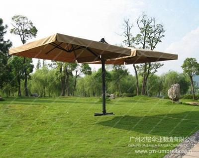 Multi-Aluminum Cantilever Square Umbrella With Tippet
