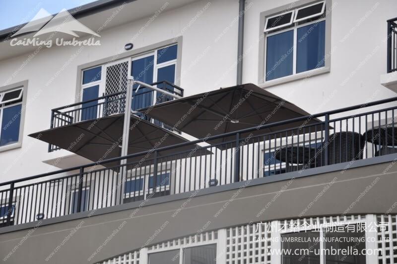 Multi Mast Cantilever Umbrella