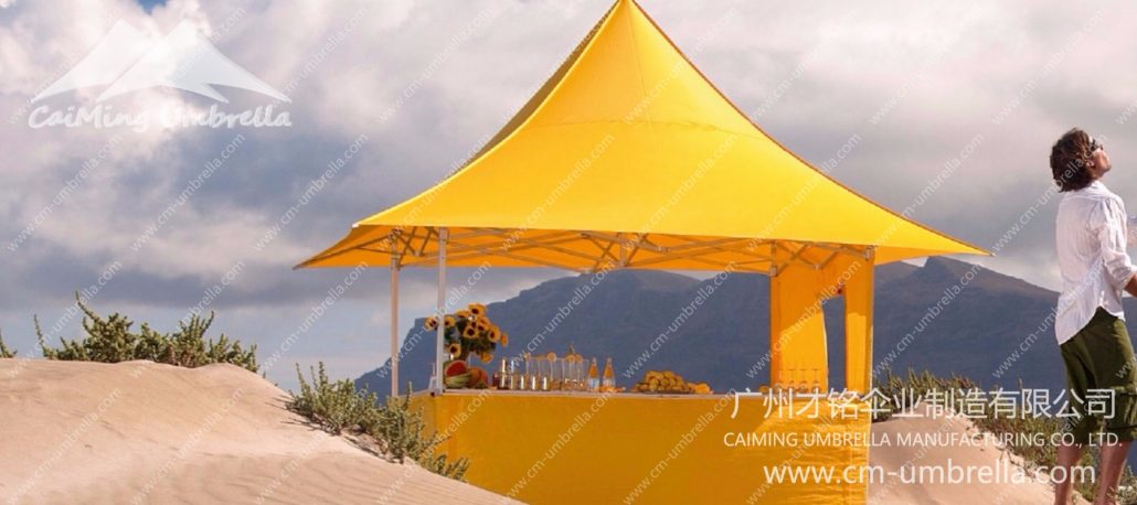 Gt Square Pavilion Tent Guangzhou Caiming Umbrella
