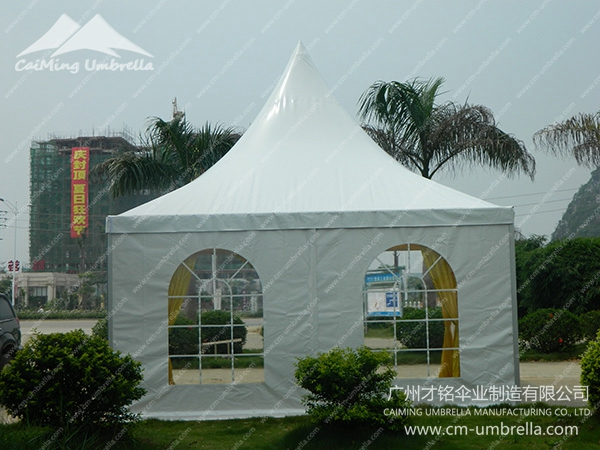 Pagoda Tent With Windows