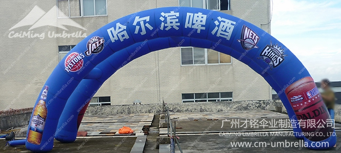 Multi-Inflatable Arch