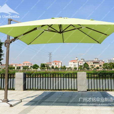 Aluminum Cantilever Square Umbrella