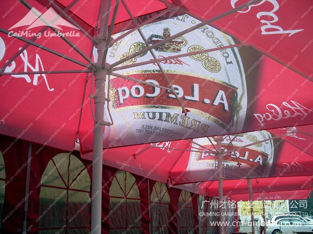 Centre pole parasol Premium