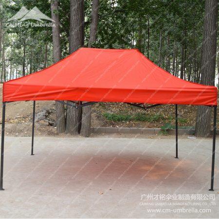 Flat Topped Four Angle Umbrella