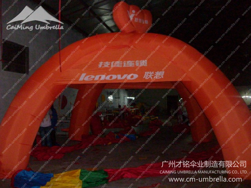 Half Sphere Inflatable Arch